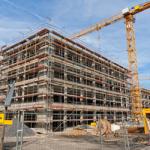 Boom in Deutschland ist auch beim Neubau von Wohnungen zu beobachten