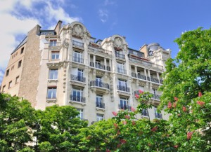 immeuble de prestige parisien (Passy)