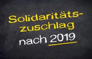Solidaritätszuschlag 2019